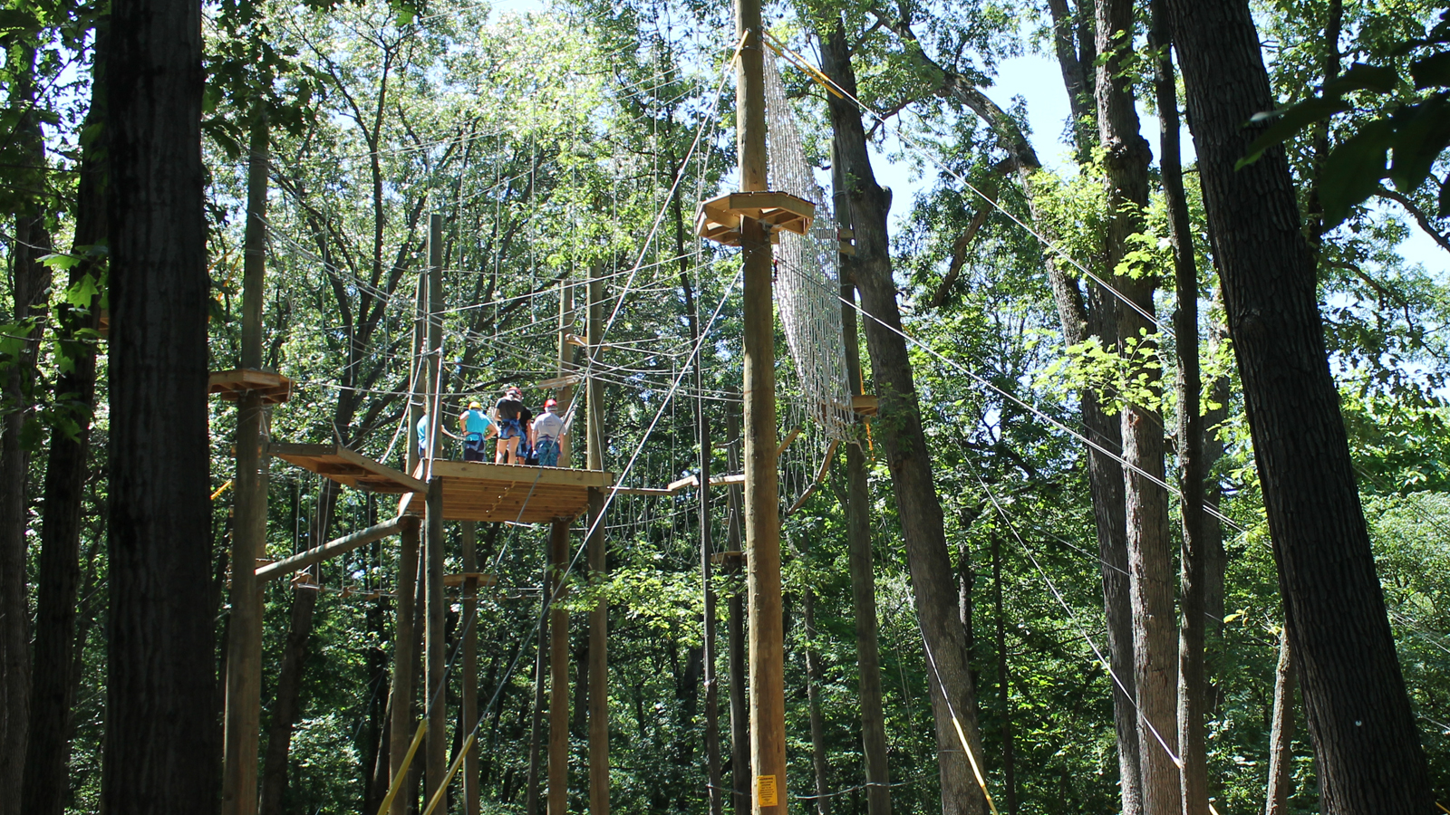 View of High Ropes Course